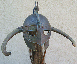 how to make a viking helmet without horns